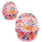 Candy Print Baking Cups